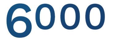6000 caméras installées