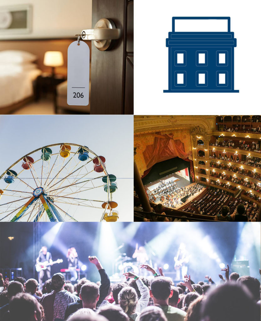 Secure your hostel or event