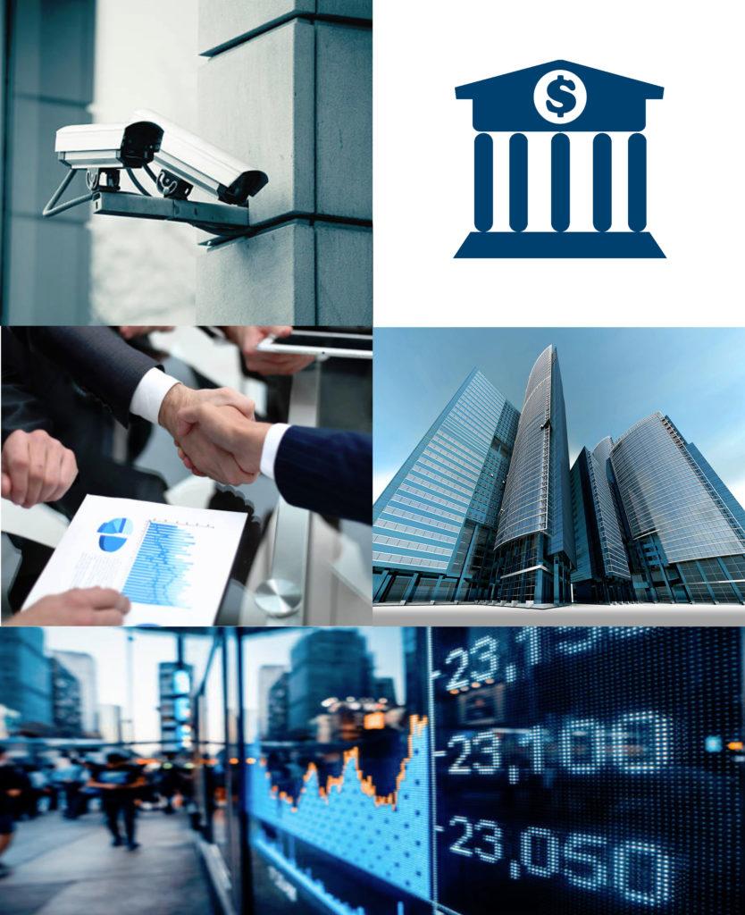 Proteger las oficinas bancarias y el sector de las finanzas