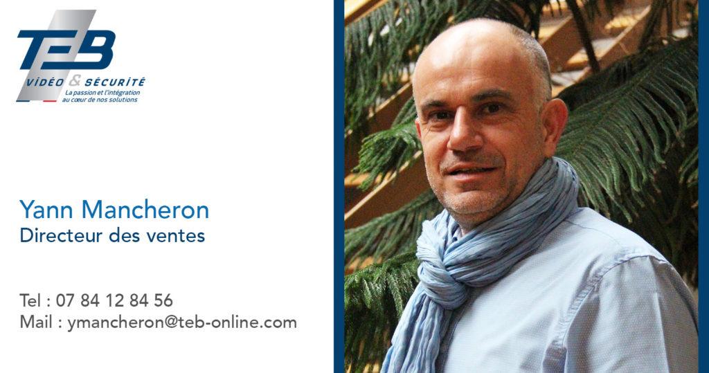 Nomination de Yann Mancheron Directeur des Ventes