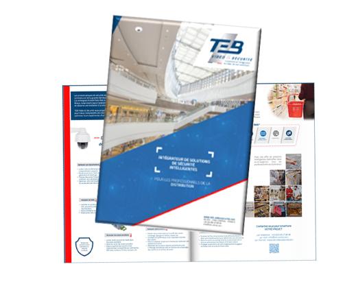 Télécharger la brochure TEB Vidéo & Sécurité pour commerces et GD