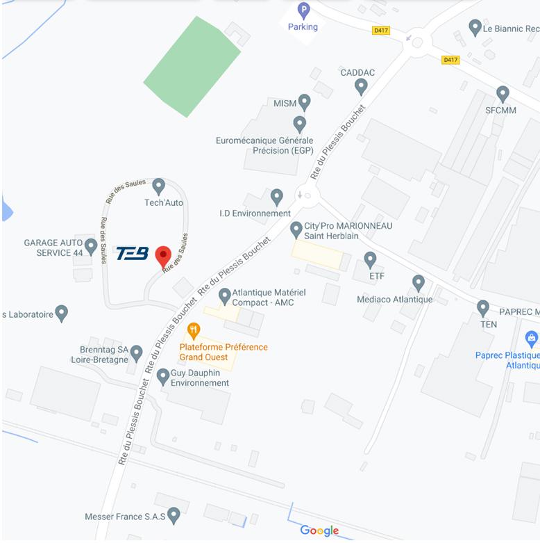 TEB Vidéo & Sécurité à Saint-Herblain